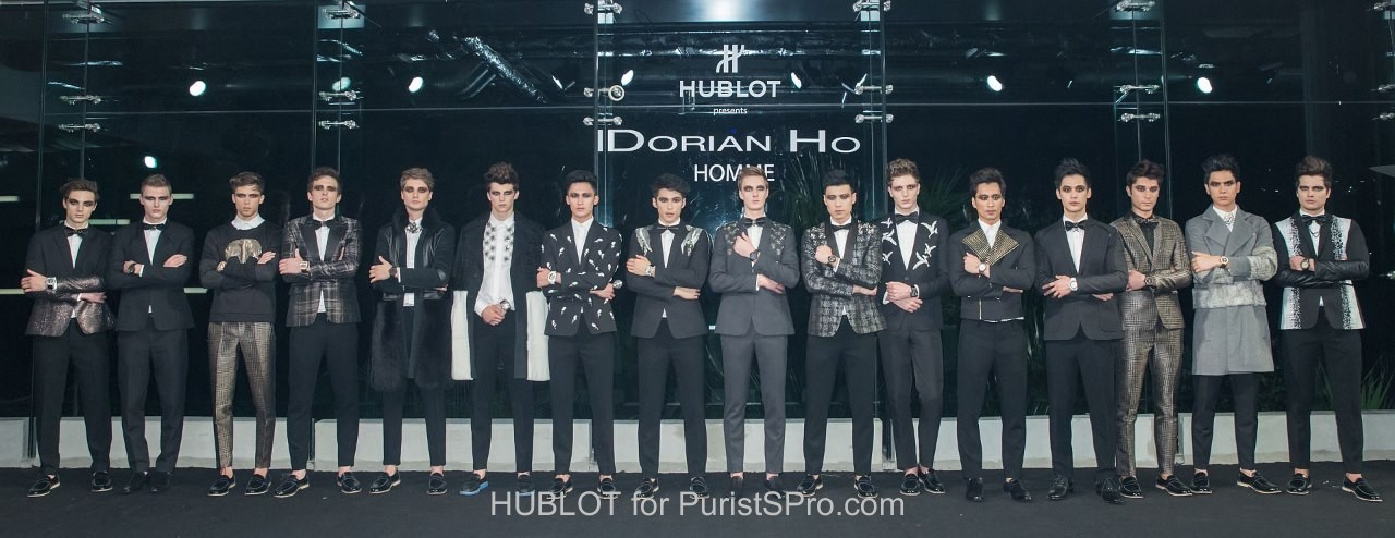 Dorian Ho Homme Collection 2015 Fall/Winter