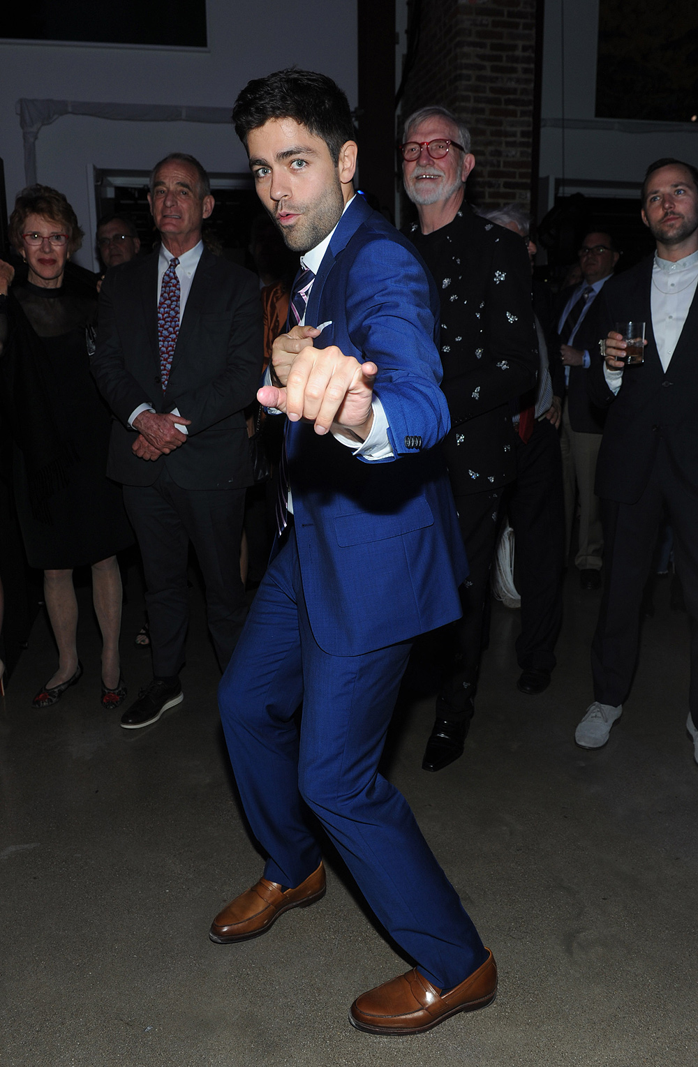Adrian Grenier at Longines VF Party