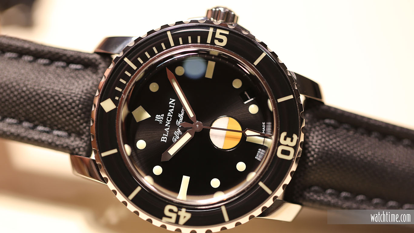 Blancpain Tribute to Fifty Fathoms Mil-Spec - Baselworld 2017