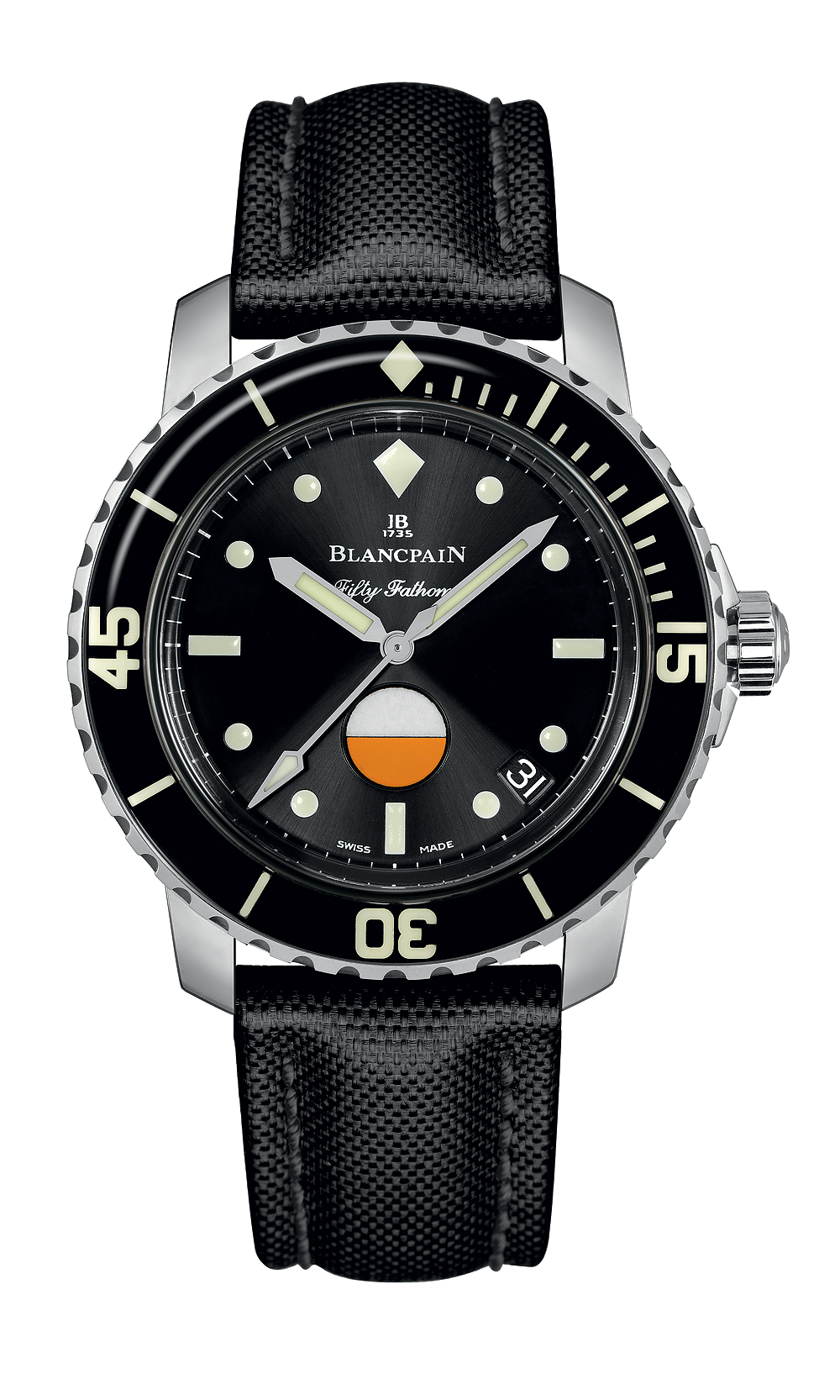 Blancpain Tribute to Fifty Fathoms Mil-Spec - front
