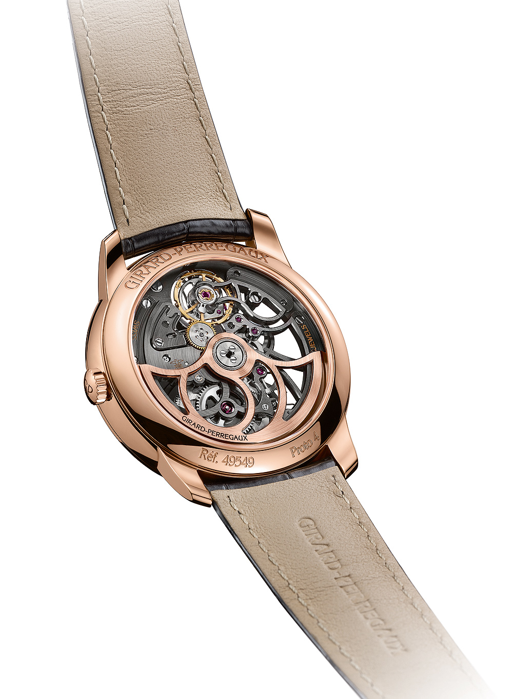 Girard-Perregaux 1966 Skeleton - back