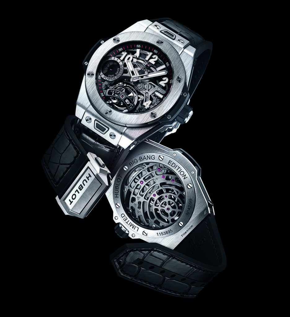 Hublot Big Bang Tourbillon Power Reserve 5 Days Titanium
