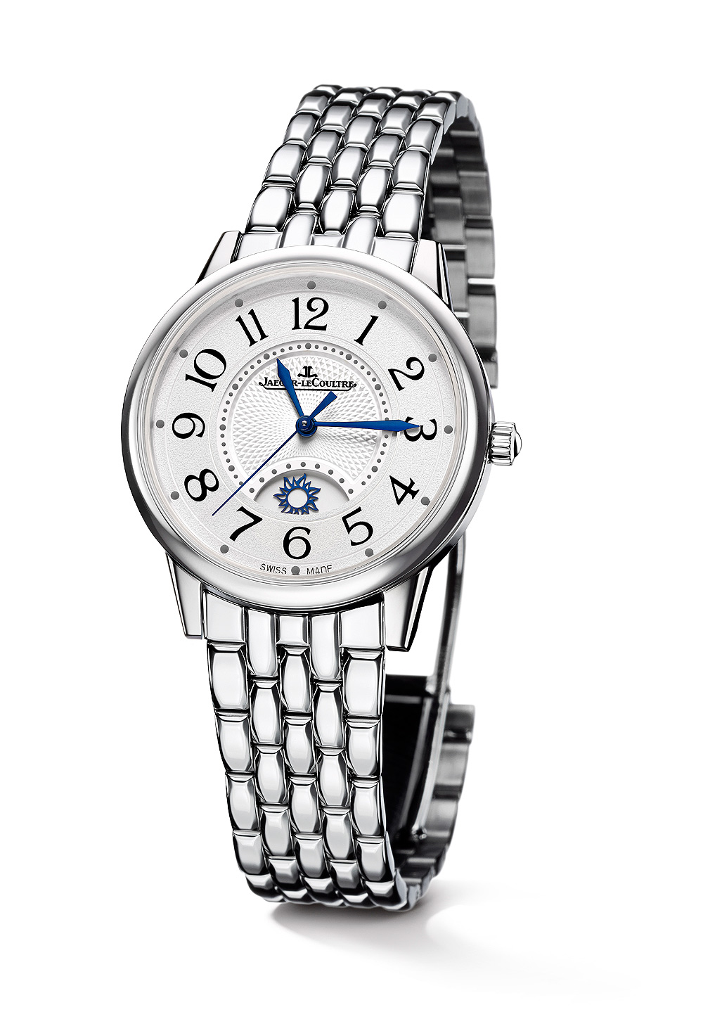 Jaeger-LeCoultre Rendez-Vous Night & Day Large steel-bracelet