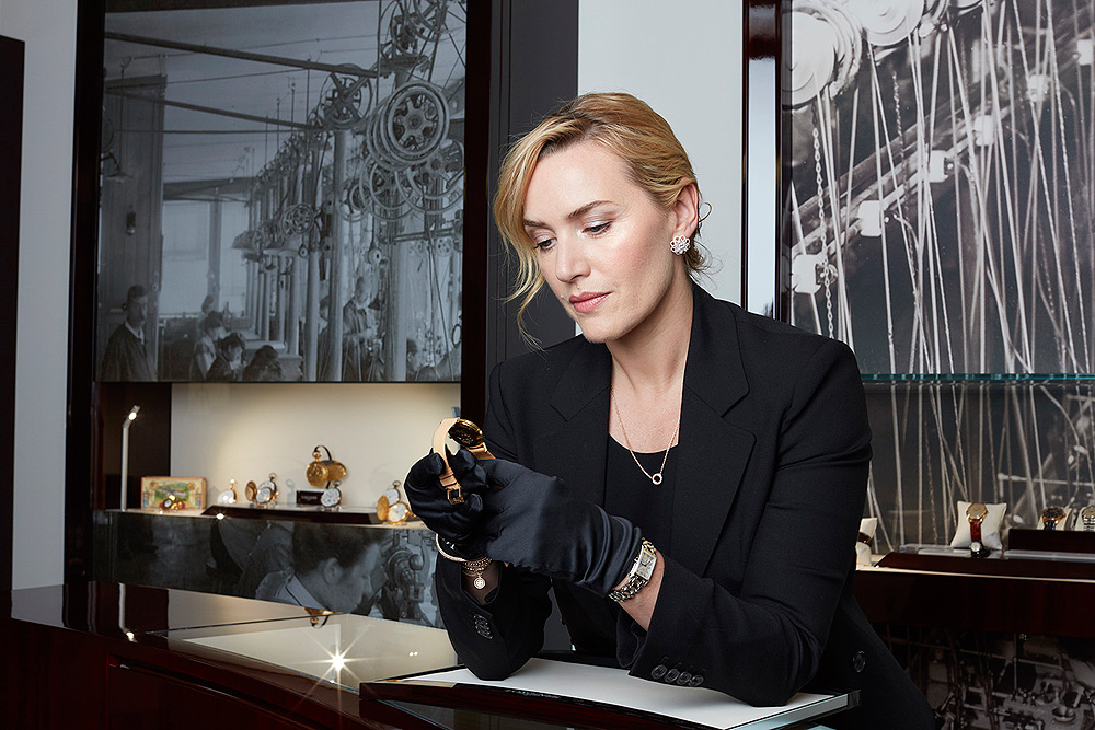 Kate Winslet @ Longines - with watch