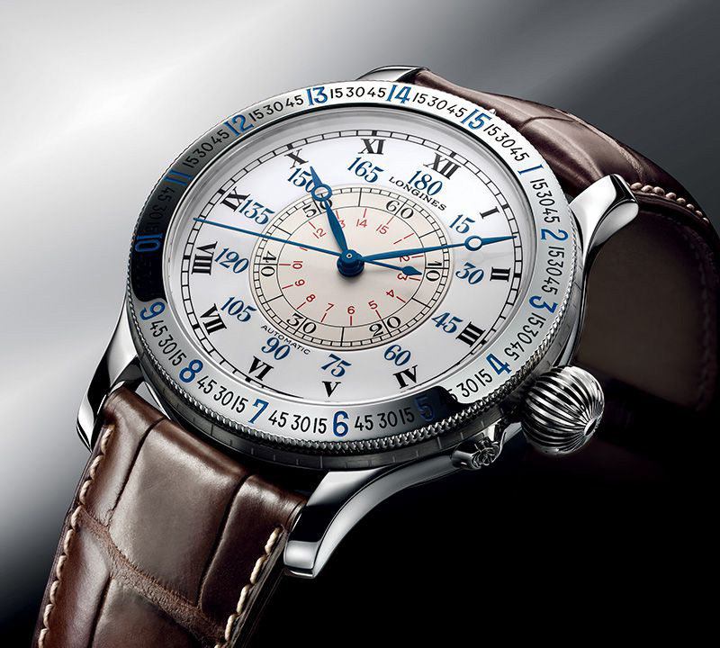Longines Hour Angle watch - modern - angle