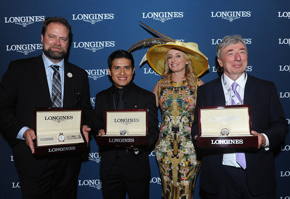 Longines Kentucky Derby trophy presentation