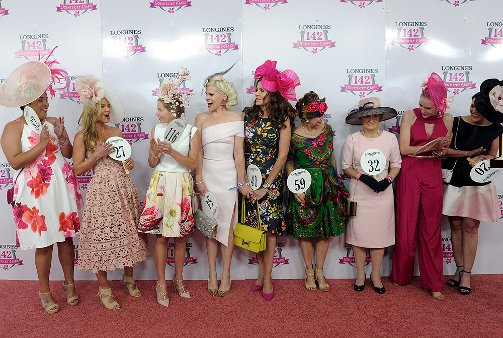 Longines Kentucky Oaks fashion show