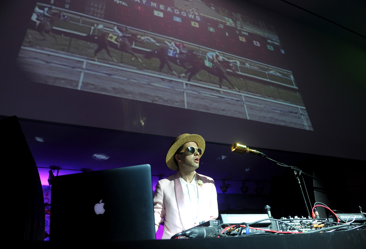 Longines Kentucky Oaks party - DJ Cassidy