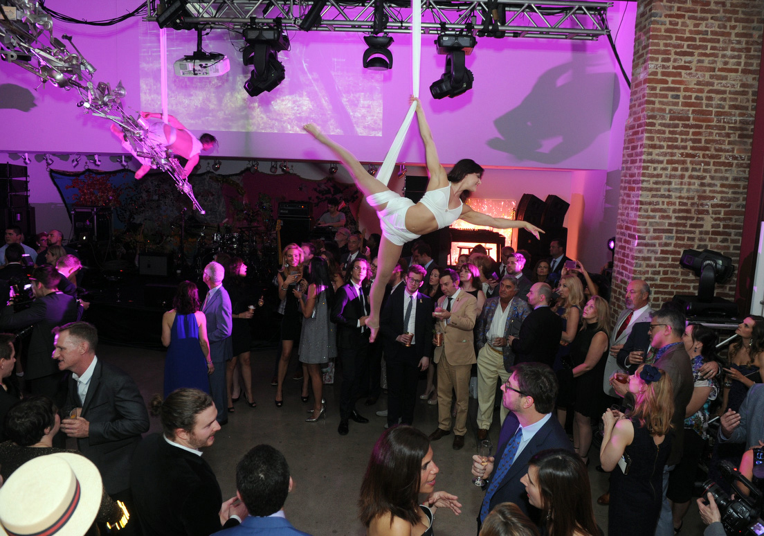 Longines Kentucky Oaks party - dancers