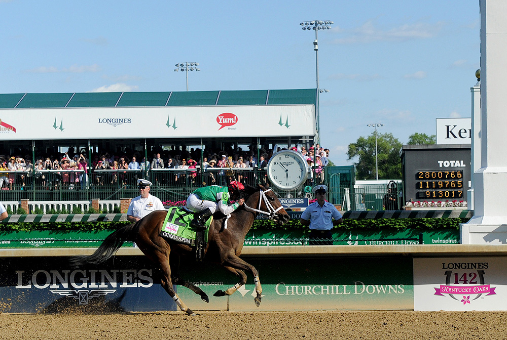 Longines Kentucky Oaks race