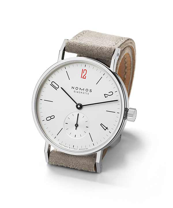 Nomos Tangente 33 Doctors Without Borders - front
