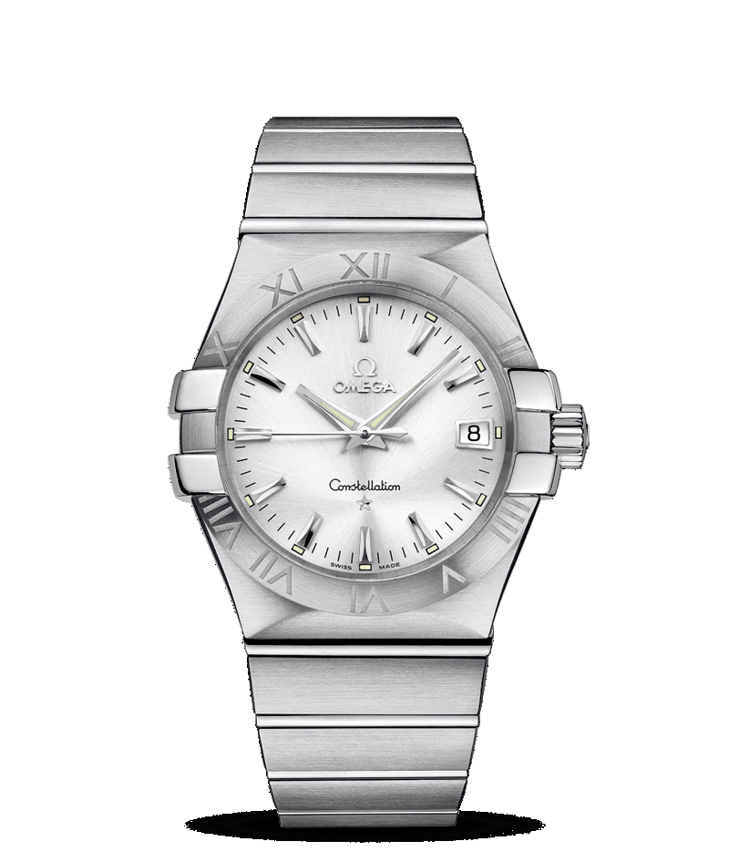 Omega Constellation - steel - white dial