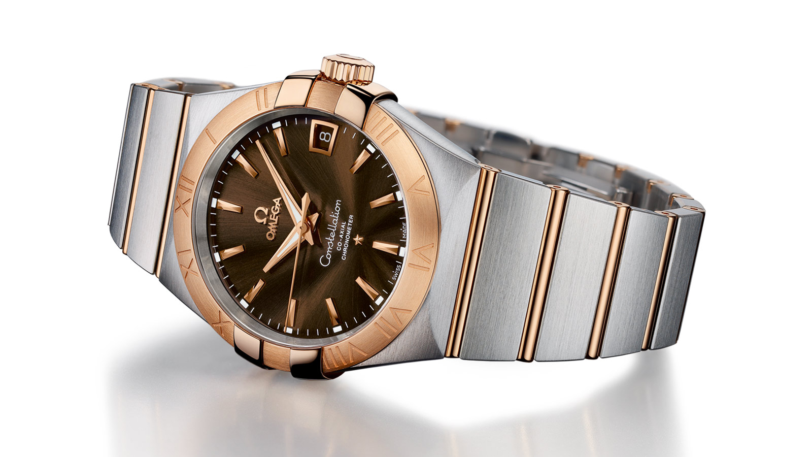 Omega Constellation - two-tone