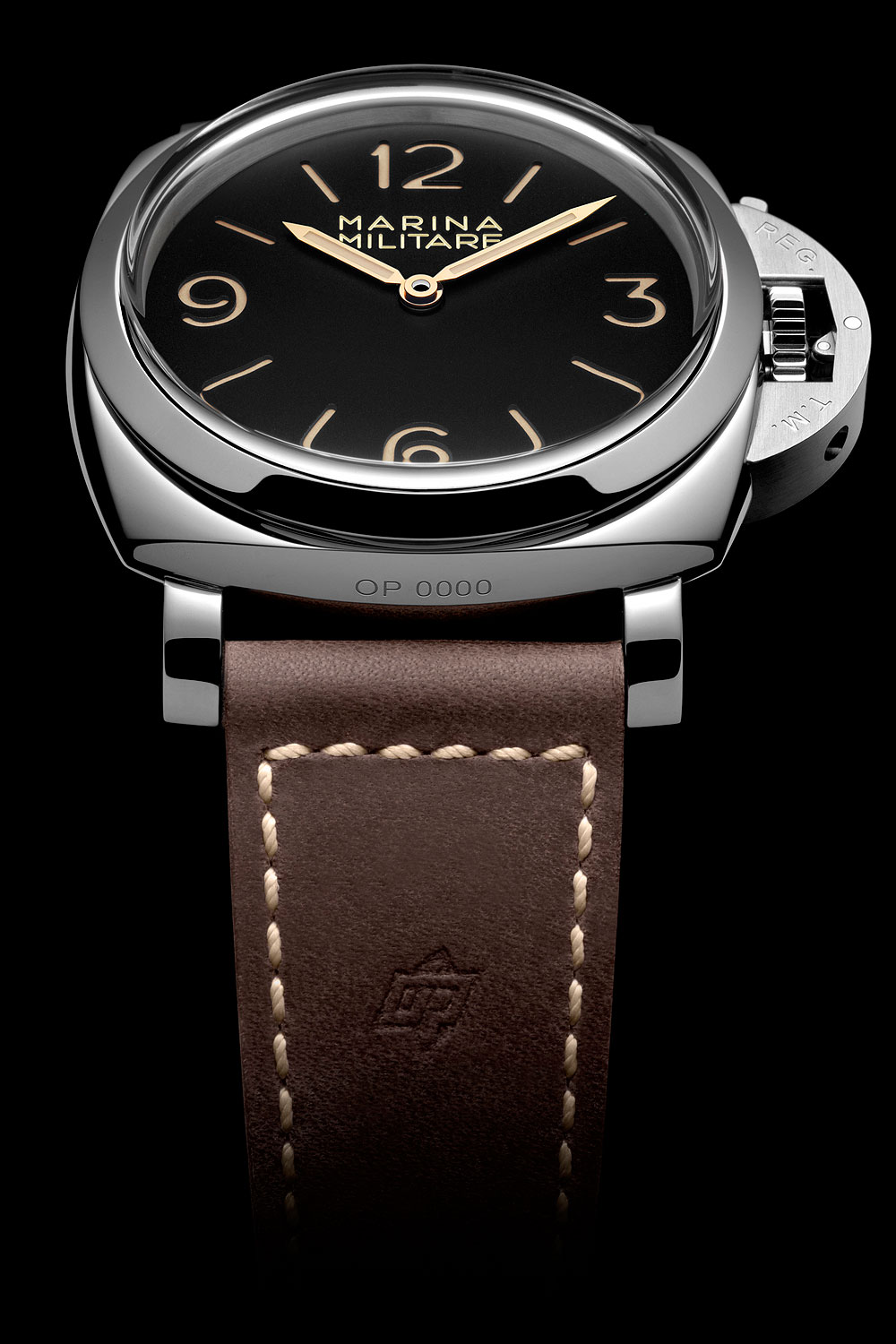 Panerai Luminor 1950 3 Days Acciaio - front