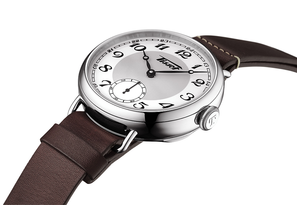 Tissot Heritage 1936 - side view