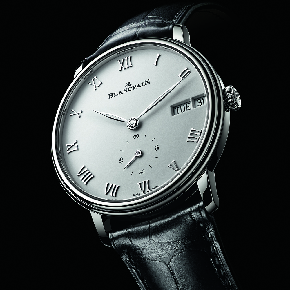 Villeret Ref. 6652, a classic Day-Date from Blancpain