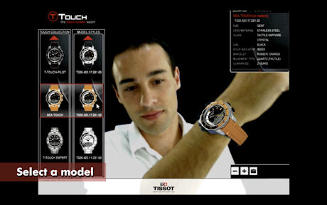 Tissot Augmented Reality