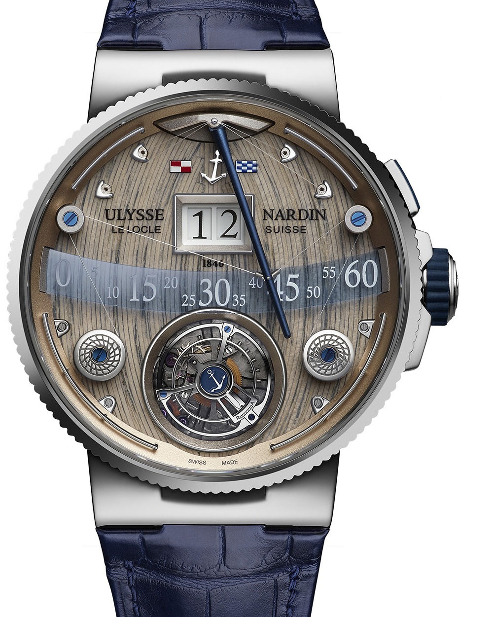Ulysse Nardin Grand Deck Marine Tourbilon