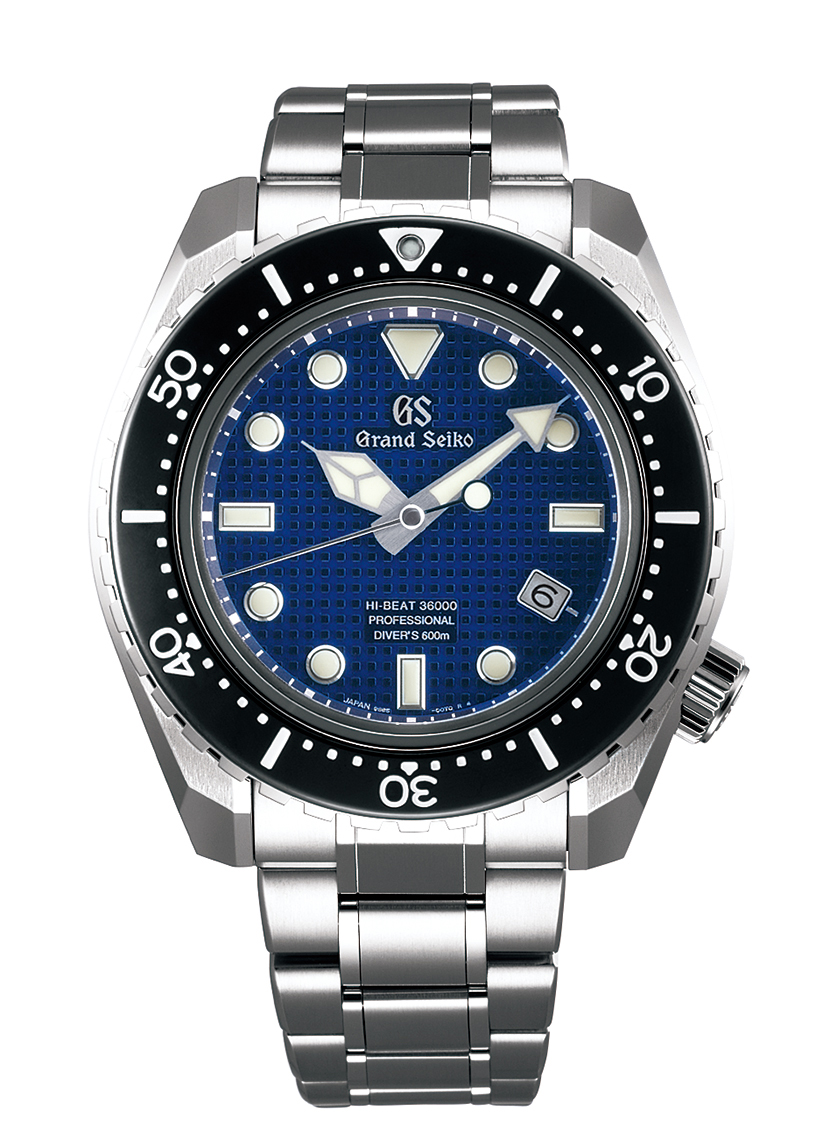 Grand Seiko Hi-Beat 36000 Professional 600m Divers - blue dial - front
