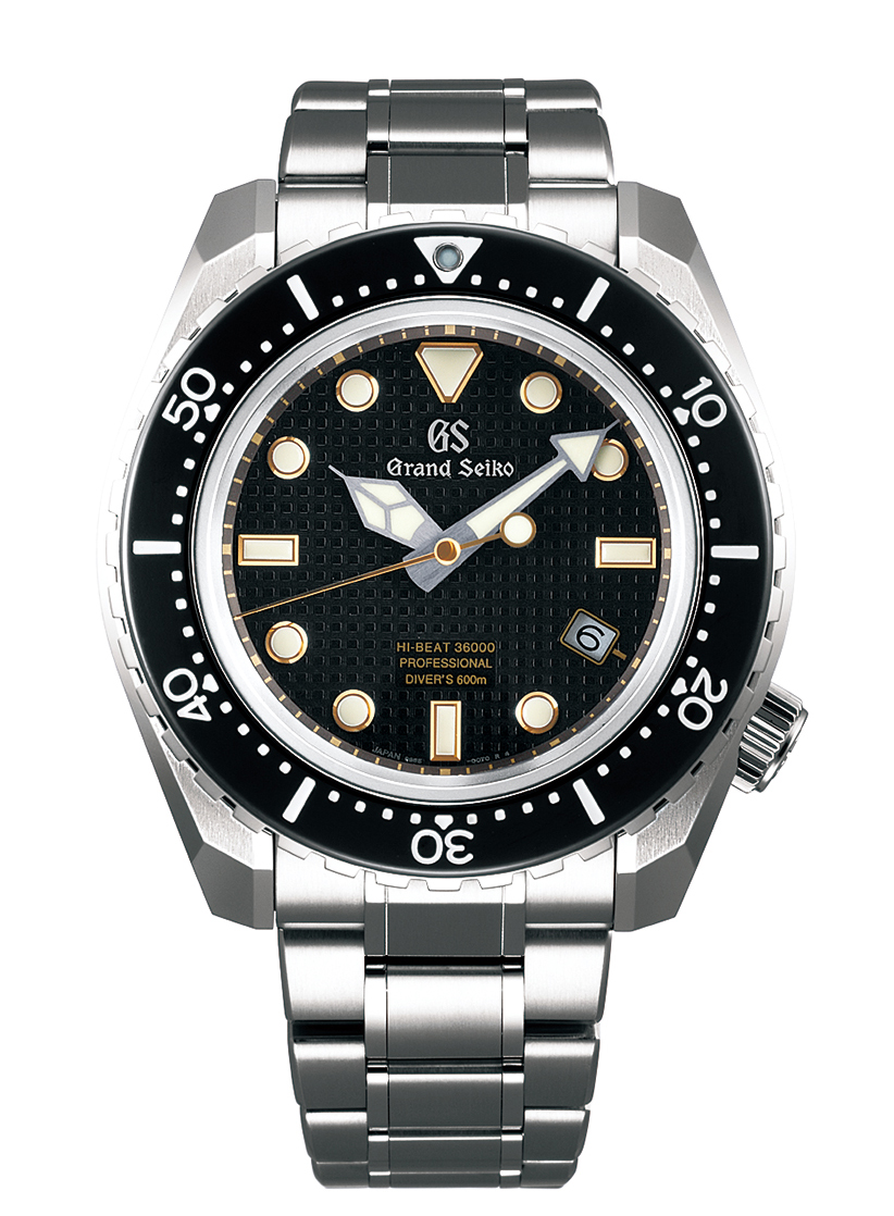 Grand Seiko Hi-Beat 36000 Professional 600m Divers - black dial