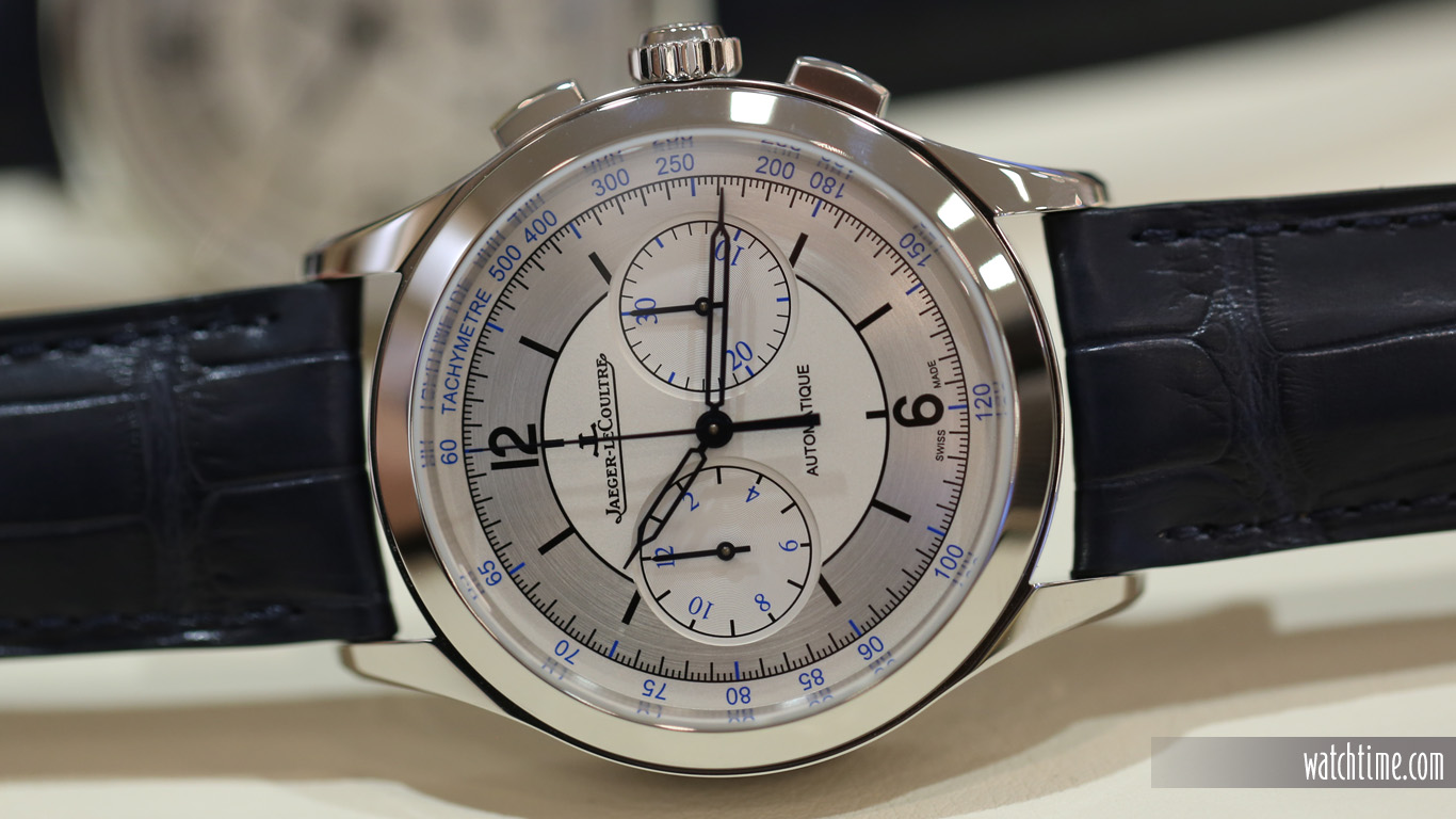 Jaeger-LeCoultre: New Master Chronograph