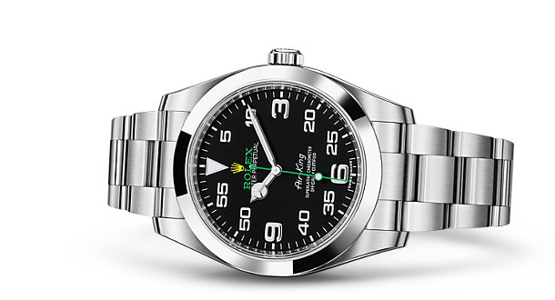 Rolex Air-King - reclining