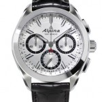Alpina creat the fashion smartwatch- chronograph watch