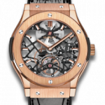 Ultra-Thin Skeleton Tourbillon King Gold