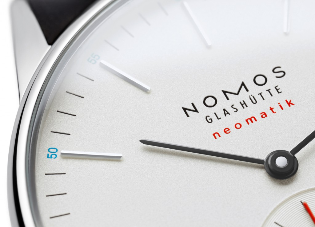 Nomos presented the new Neomatik collection with ten automatic models