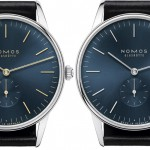 Nomos Orion Midnight Edition Watch with a new movement