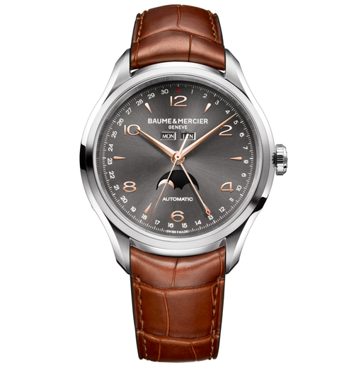 Baume & Mercier unfolded three new Clifton Black watches