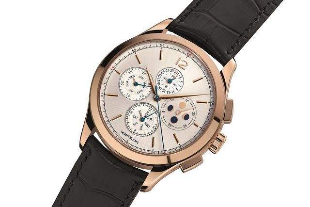 montbalc presented the new Heritage Chronométrie watch 01