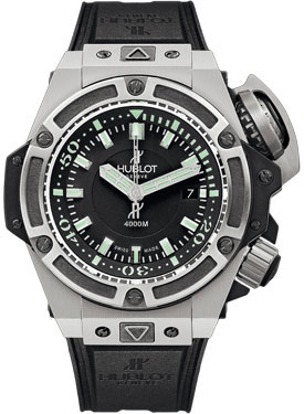 A Superior Diving Watch Crafted From Hublot-Hublot Oceanographic 4000