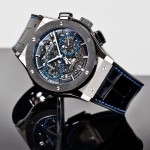 Side of Hublot Classic Fusion Chronograph Aerofusion titanium watch