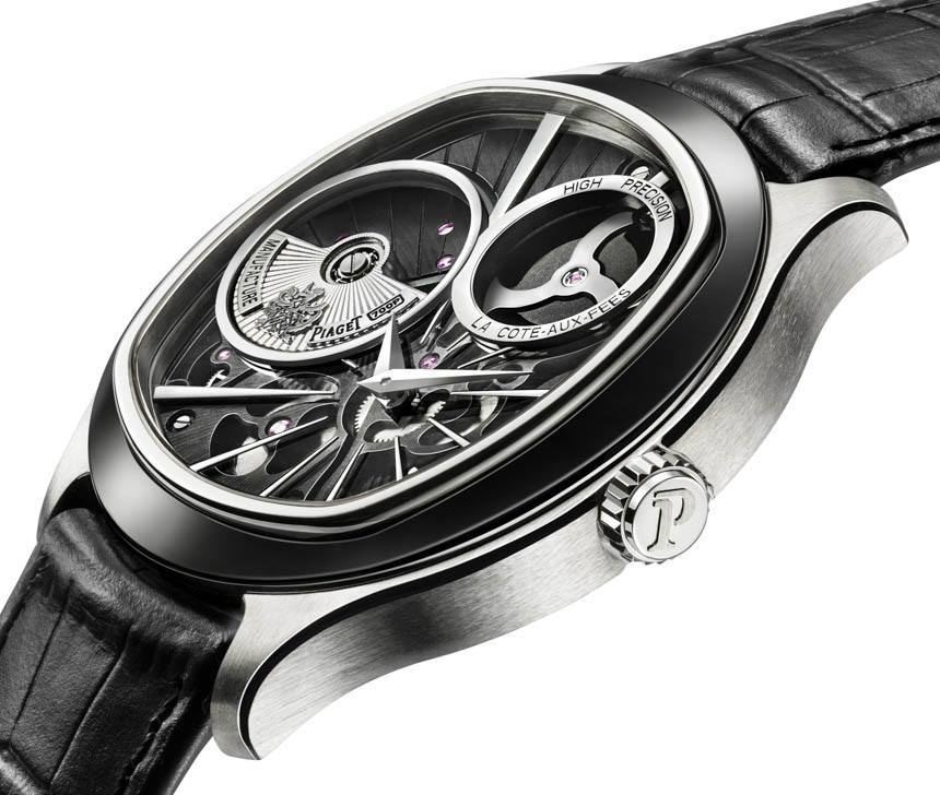 Side of Piaget EmperadorCoussin XP 700P limited edition watch