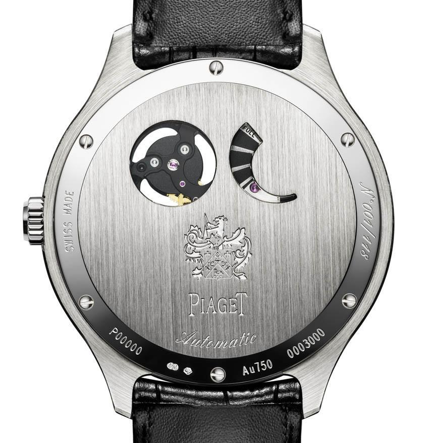 Piaget Emperador Coussin XP 700P limited edition watch caseback