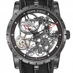 Front of Roger Dubuis new model-Automatic Skeleton Carbon