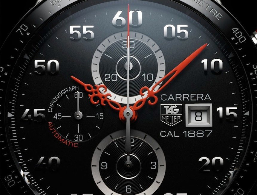 TAG Heuer Carrera Calibre 1887 Time Machine Nendo Japan Limited Edition dial
