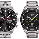 Front of Tissot PRS 516 43mm chronograph watches