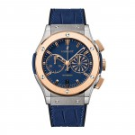 Front of Mykonos Classic Fusion 18k rose gold Chronograph