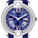 Front of Velvet Secret Heart diamonds women's watch