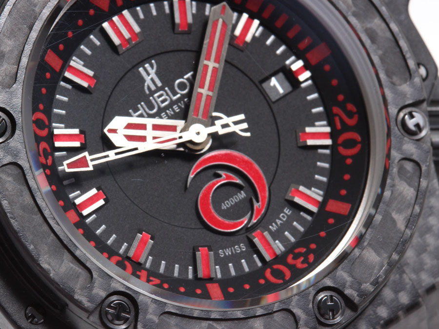 Hublot King Power Alinghi 4000 dial