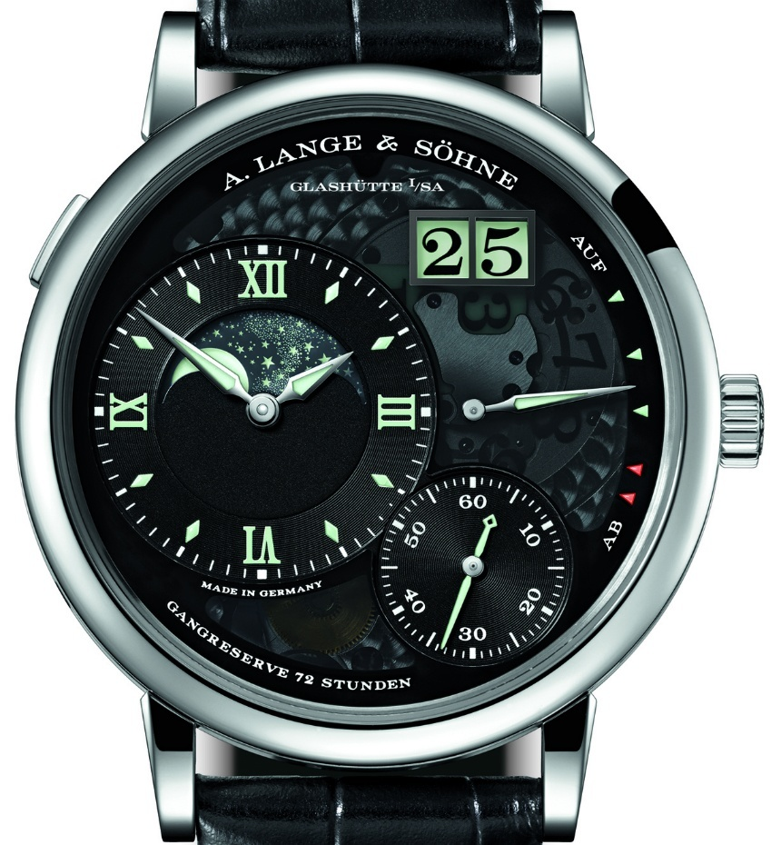 Front of A. Lange & Söhne Grand Lange Moon Phase Lumen watch