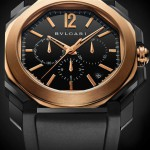 Bulgari Octo Ultranero in pink gold