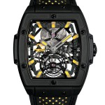 Front of Hublot MP-06 Senna Act IV titanium watch
