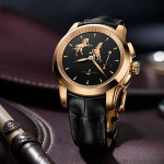 Ulysse Nardin Hourstriker Horse rose gold watch