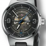 Front of Oris Williams Engine Date watch