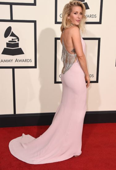Ellie Goulding wore the Bulgari jewellery at the Grammy Awards ceremony