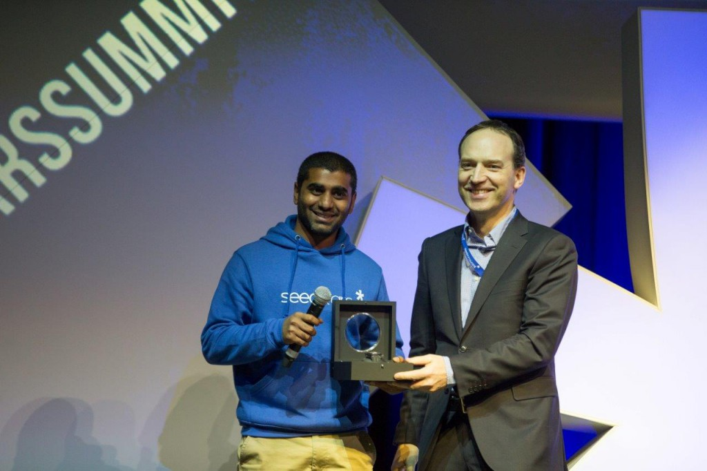 Hublot became the timekeeper of the 3rd edition of the Seedstars World competition