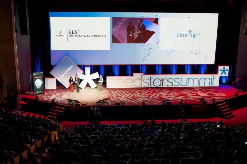 Hublot became the timekeeper of the 3rd edition of the Seedstars World competition 02